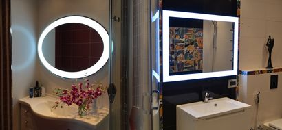 Spiegels met LED verlichting